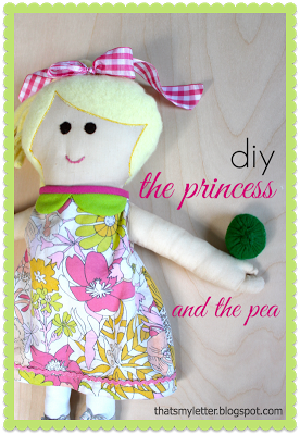 Princess & the Pea (doll, pea & mattresses)