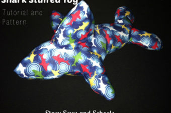 EASY Stuffed Shark Toy Tutorial