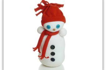 Snowman Doll Pattern- Won't melt!