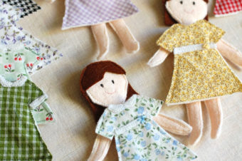 Felt Paper Dolls and Clothes