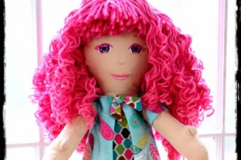Doll Hair- Wig and Curls Tutorial