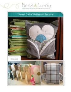 Sew a sweet Owl Plushie- free tutorial