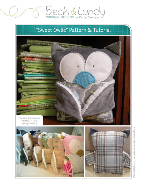 Sweet Owl Plushie Tutorial