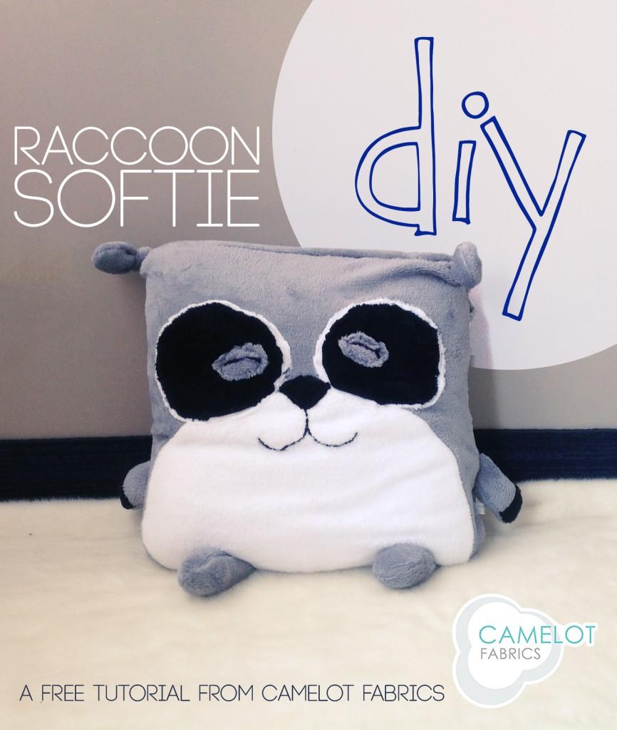 raccoon plushie tutorial