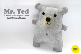 Mr. Ted Tutorial – Teddy Bear