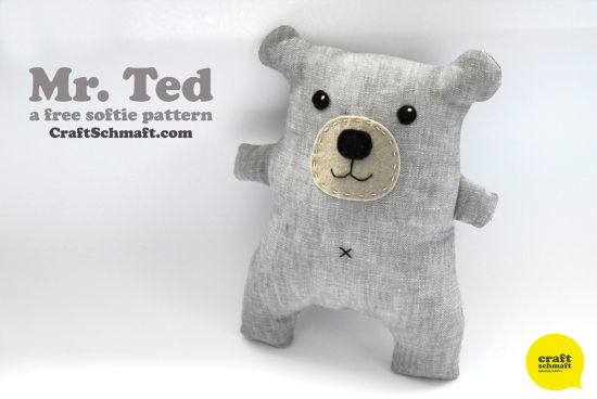 Mr. Ted a Teddy Bear Tutorial