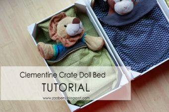 Clementine Crate Doll Bed – TUTORIAL