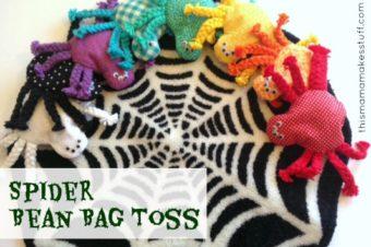 Spider Bean Bag Toss Game