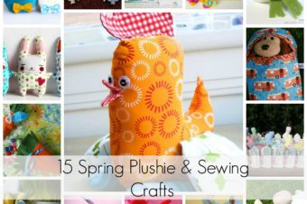 15 Spring Plushie and Sewing Crafts