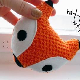 Fox STUFFED ANIMAL Sewing Pattern Digital by WarmFuzziesByGen