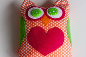 Owl Bean Bag Tutorial
