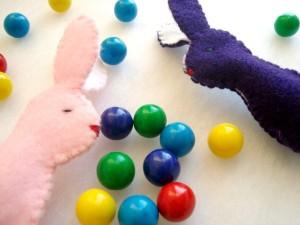 bunny finger puppet tutorial | plushie patterns #fingerpuppet #bunny #easter