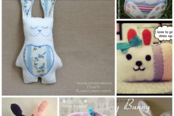 20 + Bunny Sewing Tutorials