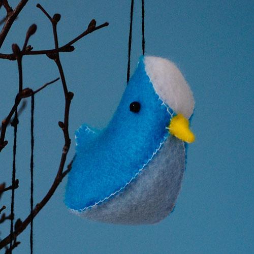 How to Sew Felt Birds | #tutorial #birdplushie | plushie patterns