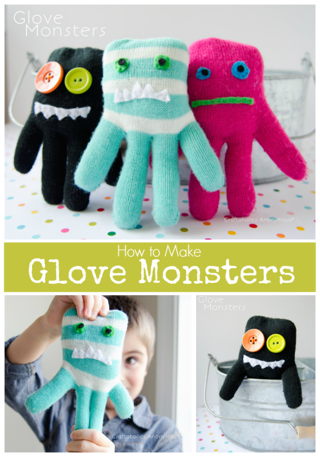 Glove Monsters Tutorial