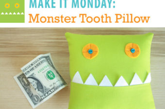 Monster Tooth Pillow Tutorial
