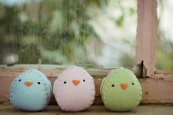 Egg Chick Plushie Tutorial