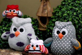 Sock Owls Free Pattern & Tutorial