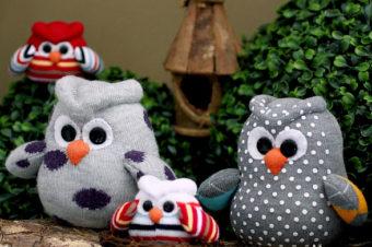 Sock Owls Free Pattern & Tutorial