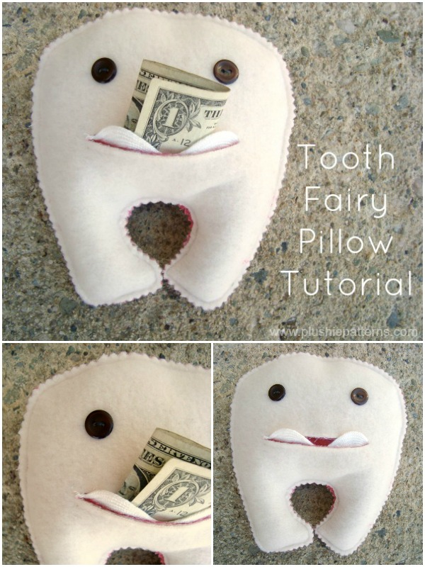 Tooth Fairy Pillow Tutorial Plushie Patterns