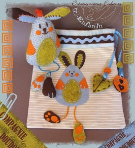 Simple Bunny Plushie Tutorial   simple sewing projects #bunny #plushie