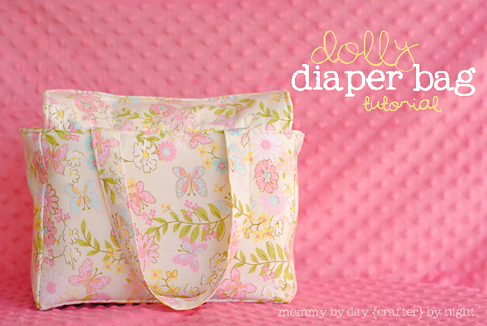 Dolly Diaper Bag Tutorial