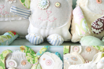 regina the rabbit + lulu the lamb Plushie Tutorials
