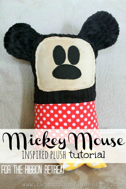 Mickey Mouse Plushie Tutorial