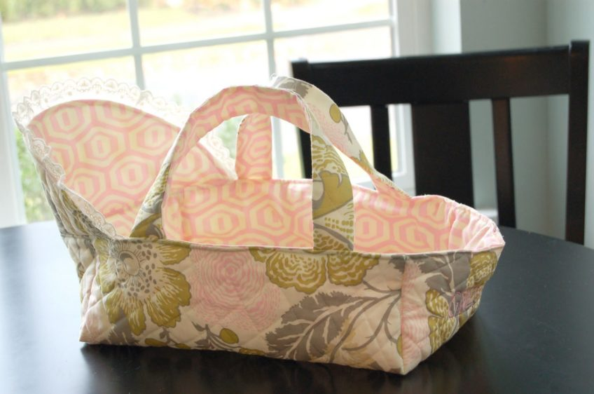 Doll Bassinet and Carrier Tutorial
