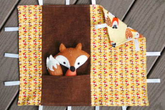 Fox and Tag Blankie Tutorial