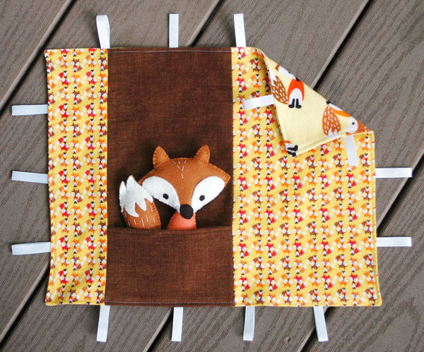 fox and blanket tutorial