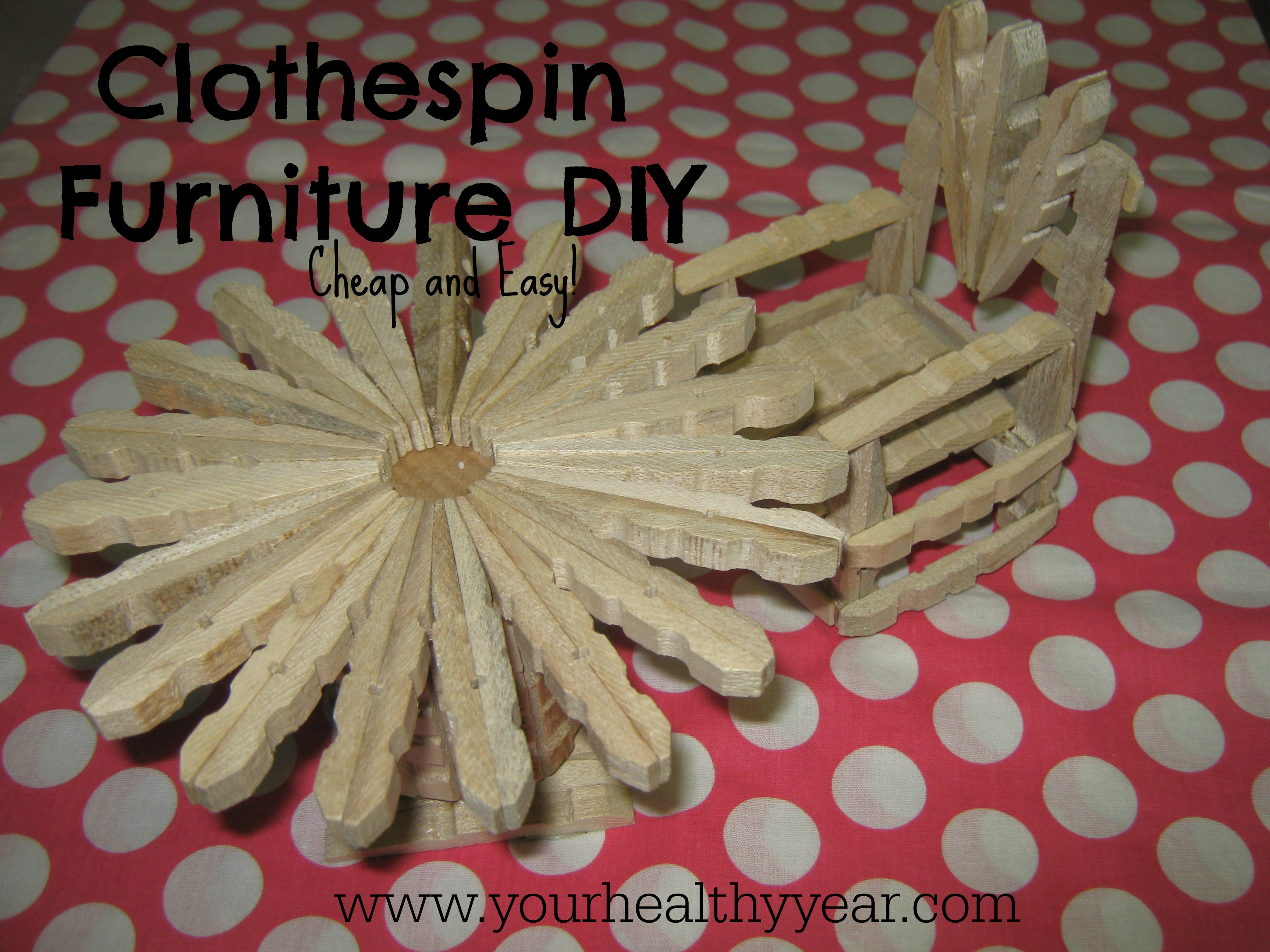 diy clothespin furniture