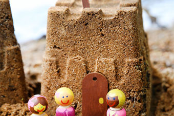 DIY Sand Castle Figures