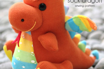 How to Sew A Sock Dragon