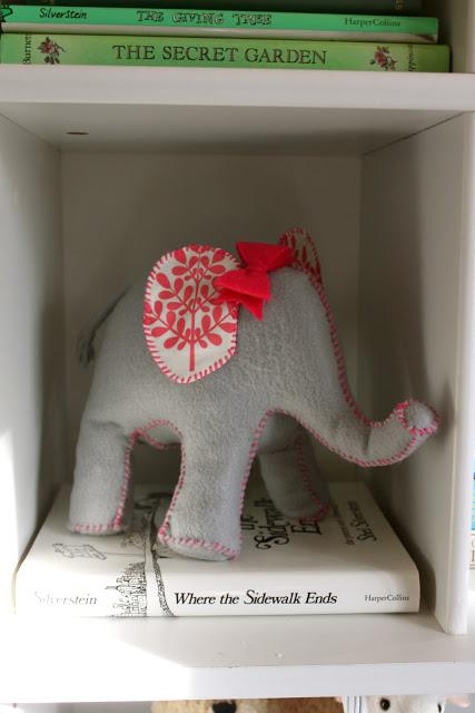 Elephant felt animal tutorial