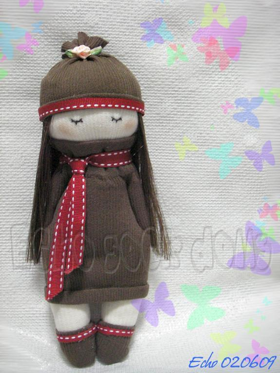 Sock Doll Pattern with Hat