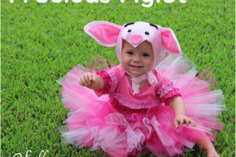 Precious Piglet Hat Tutorial