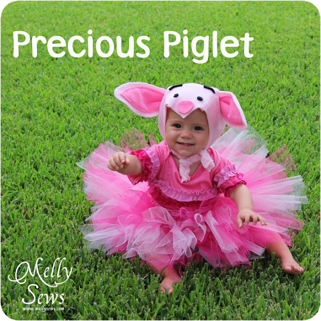 piglet hat tutorial- costume and dress up!