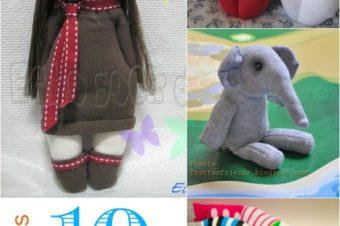 10 Sock Dolls – Free Tutorials!