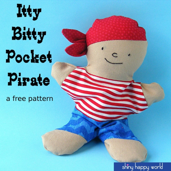 itty bitty pocket pirate
