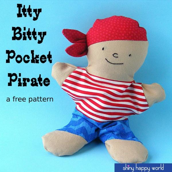 itty bitty pocket pirate