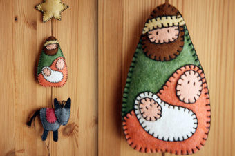 Felt Nativity Free Pattern
