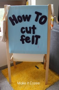 Secrets to Cutting Felt