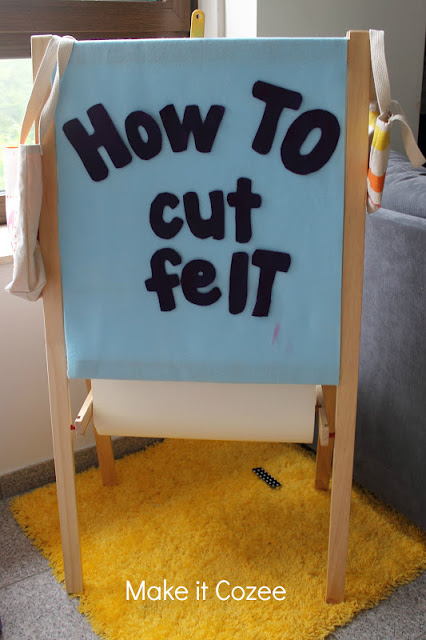 learn how to cut felt