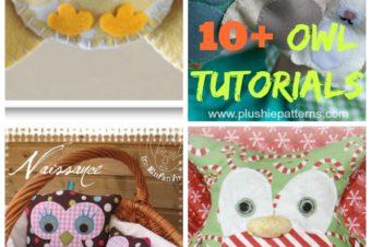 10 Owl Stuffed Animal Patterns