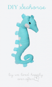 Seahorse Pattern and Tutorial