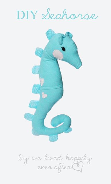 seahorse plushie tutorial- free pattern