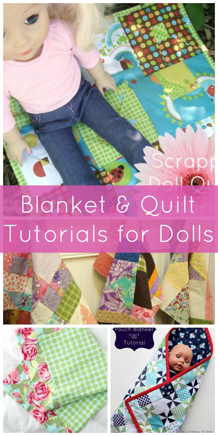 blanket and quilt tutorials for dolls
