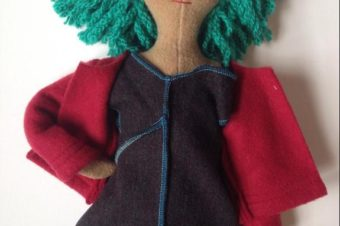Cuddly Coat Pattern for Dolls and Plushies