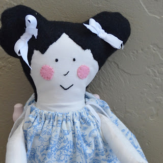 The Bookworm Cloth Doll